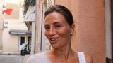 Saint-Tropez summer daytime lookbook. Flowing, carefree, feminine maxi dresses and sandals.