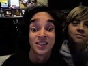Dillon and Cole Webcam (dance to Michael Jackson's Thriller)funny