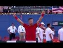Матчболл в исполнении Борны Чорича который вывел Хорватию в финал Кубка Дэвиса