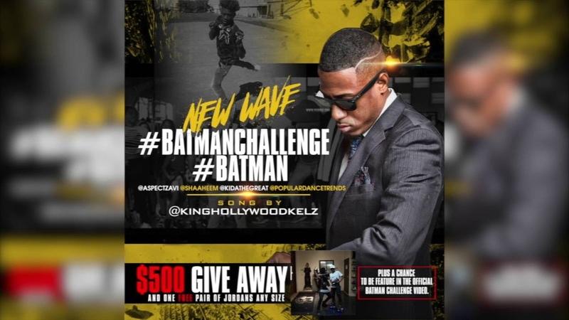 KING HOLLYWOOD KELZ - BATMAN CHALLENGE