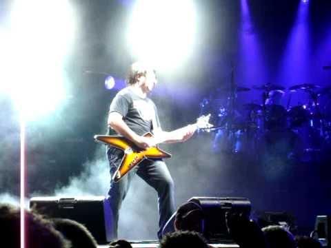 Mike Mushok/Eddie Van Halen cover guitar solo, Toledo Zoo Staind concert