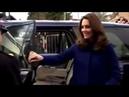 Kate Middleton has closed her own car door just like Meghan video reveals