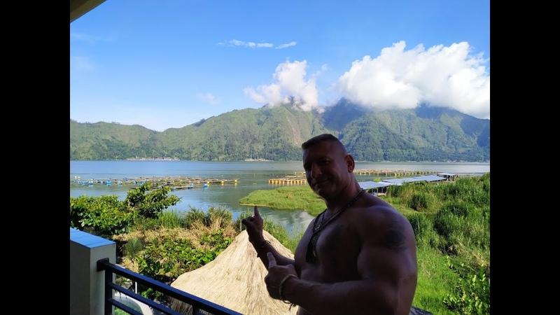 Индонезия Бали жизнь в кратере действующего вулкана Батур 2019