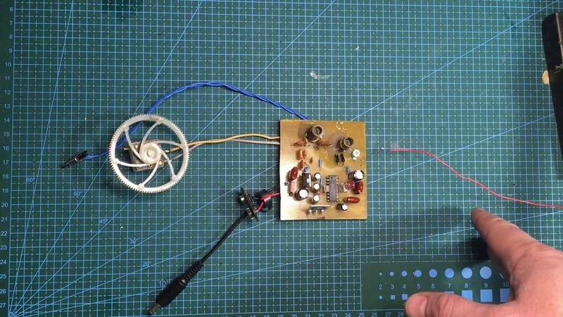 Простой DSB приемник на кв диапазон 7Mhz 40 метров Победа 80