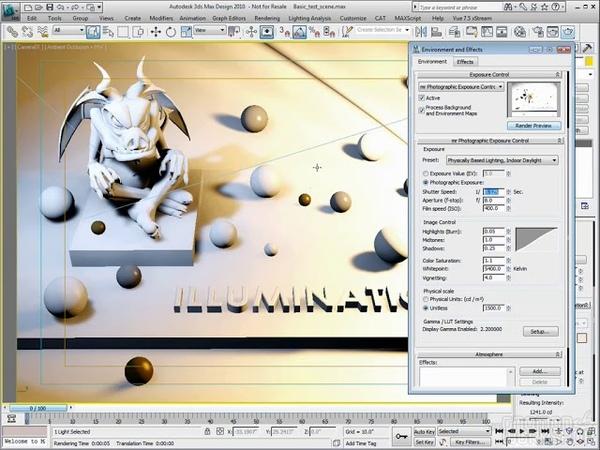 Exposure Control 3ds Max Techniques with Jeff Patton-Gonmon