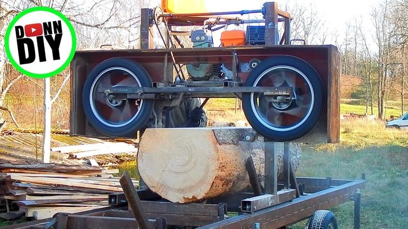 Maximum Cut Width - Homemade Sawmill 27