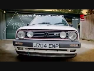 Переделка старья FLIPPING BANGERS Volkswagen Golf 2 GTI