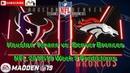 Houston Texans vs. Denver Broncos | NFL 2018-19 Week 9 | Predictions Madden NFL 19