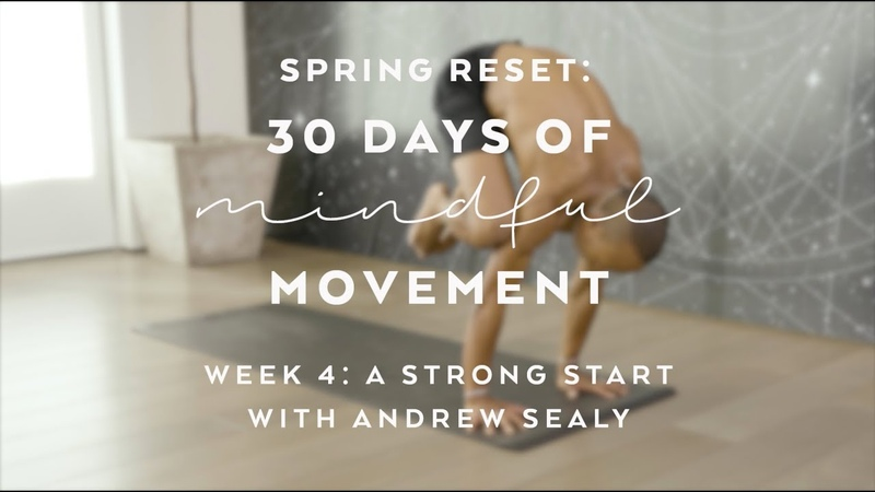Day 24: Handstand Flow with Andrew Sealy - Spring Reset: 30 Days of Mindful Movement