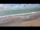 волшебное море в Евпатории. Крым.