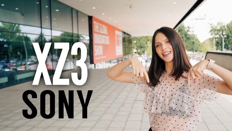 Sony Xperia XZ3 - для солидных господ
