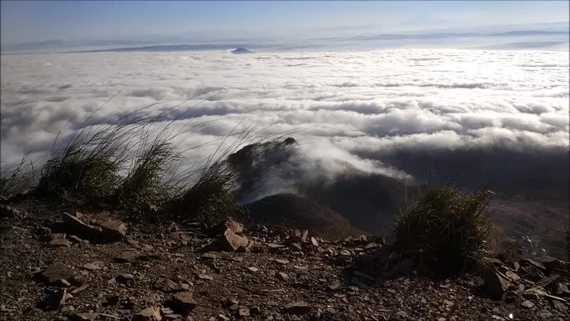 таймлапс облаков на Бештау