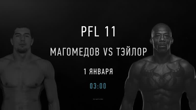 PFL11 Средний вес: Абус Магомедов - Луис Тэйлор