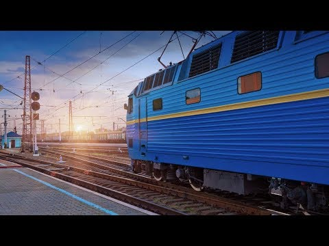Слушать звук поезда, стук колес, а мимо пробегают перроны и поля. Краснодар из окна поезда