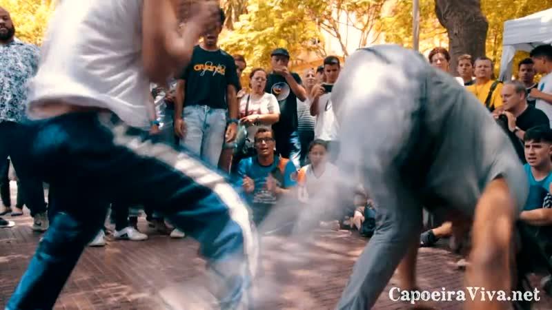 Roda de Capoeira na Praça da República (11.11.2018) Parte 1