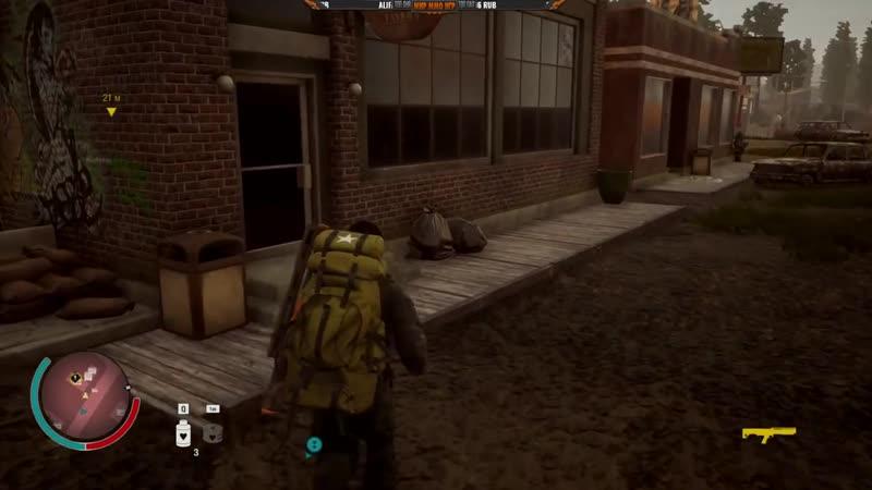 [МИР ММО ИГР] Игра State of Decay 2 - Зачистка зомби, укрепление базы и выживание