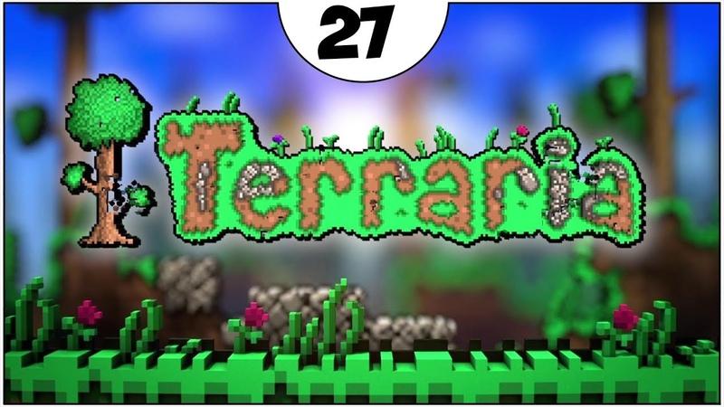 ФАРМ ГОЛЕМА ► Terraria прохождение 27