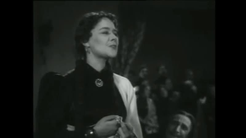 Сцена из фильма-спект. Живой труп. 1952.