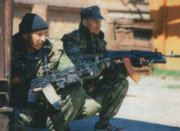Бойцы тюменского СОБРа на операции