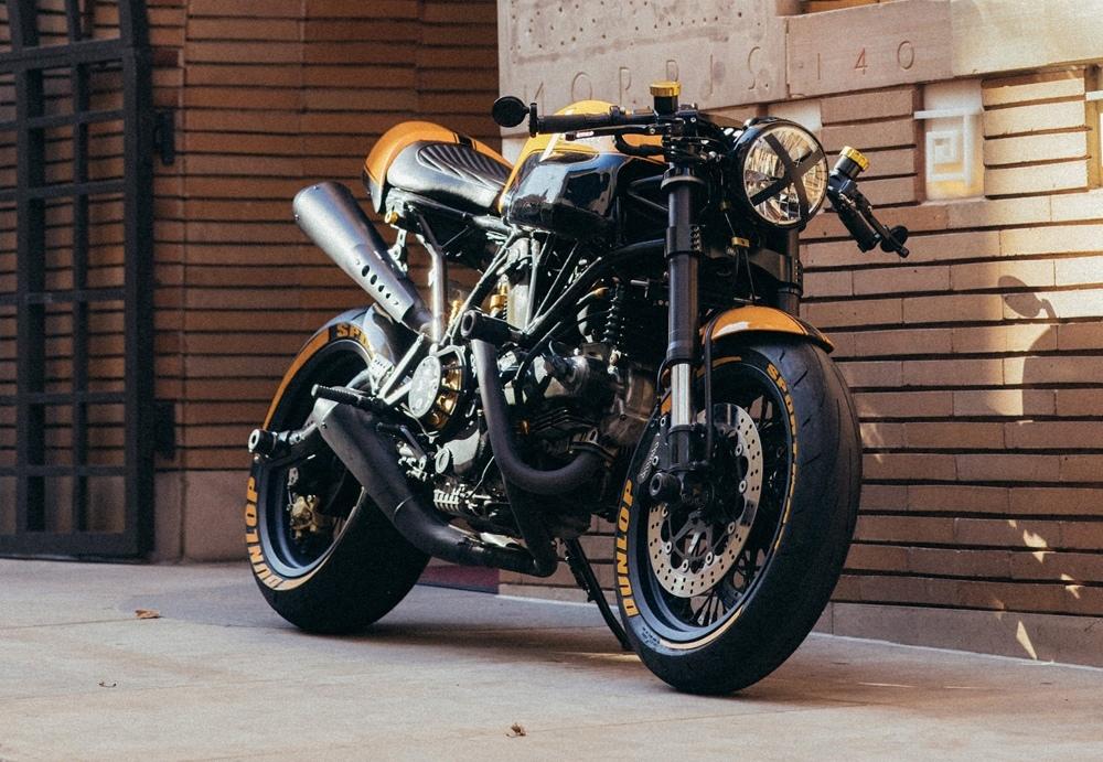 Кастом Ducati Sport 1000 Evo L'ape
