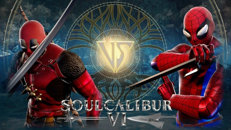 SOULCALIBUR 6 CREATIONS : DEADPOOL VS SPIDER-MAN