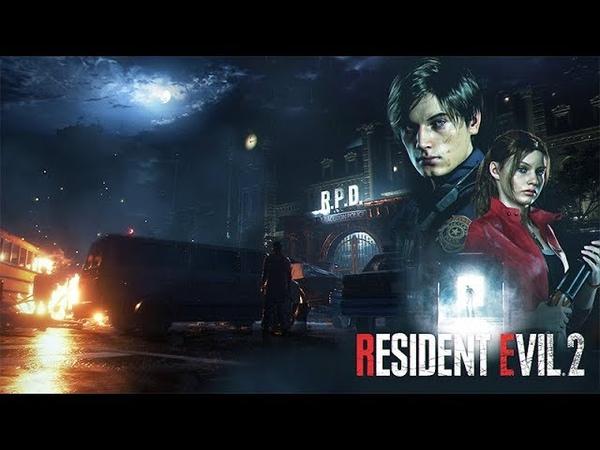 RESIDENT EVIL 2 REMAKE Opening Cutscenes 1080p 60FPS