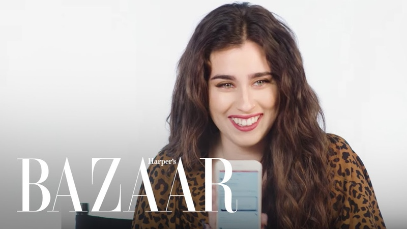 Lauren Jauregui Responds to Your Reaction Memes HashtagYourself Harper's BAZAAR