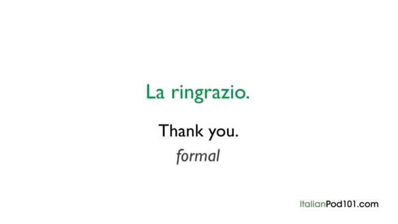 2 italian manners