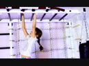 Шведская стенка с рукоходом. Шведская стенка с турником, брусьями, рукоходом и сеткой для лазания. Шведская стенка в квартиру.