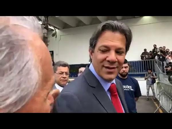 Em debate do SBT, Haddad volta a surpreender ao ser indagado sobre virada pra cima de Bolsonaro