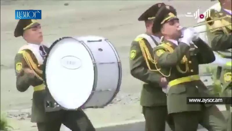 ՀՀ ԶՈՒ Պատվո պահակախմբի ու նվագախմբի փայլ14