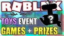 OFFICIAL TOYS EVENT PRIZES POSSIBLE GAMES REVEALED Roblox