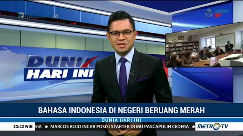 Bahasa Indonesia di Negeri Beruang Merah