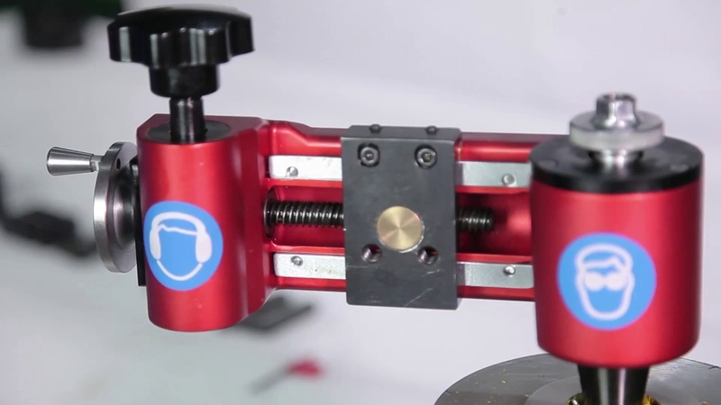 MFM350 Manual flange facer tools for smooth and serrated flange face machining