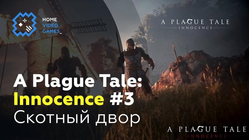 A Plague Tale Innocence 3 — Скотный двор