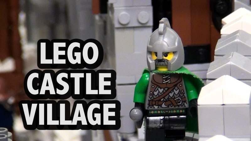 LEGO Life in Nordheim Castle Village | BrickFair Virginia 2016
