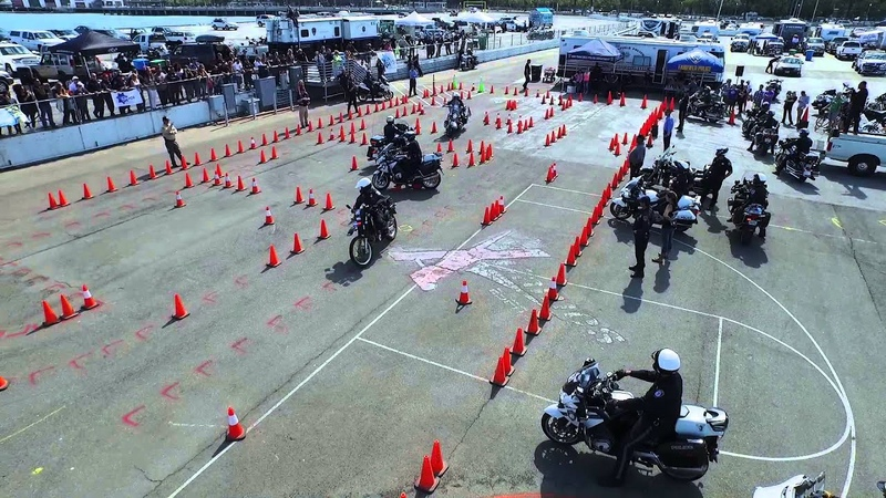 Police Motorcycle Skills Competition San Francisco 2015