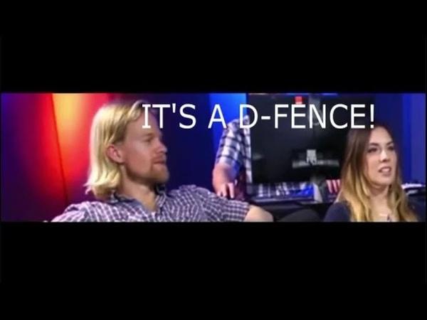 Its a D- fence (Drew tells a Joke)