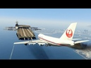 Massive Air Plane Emergency Landing at helicarrierMARVEL GTA 5 Amazing and funny Moments