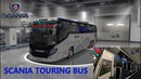 Ets2 mods scania touring new euro line skin with more addon 1.31 to 1.33