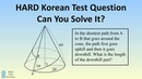 VERY HARD South Korean Geometry Problem CSAT Exam