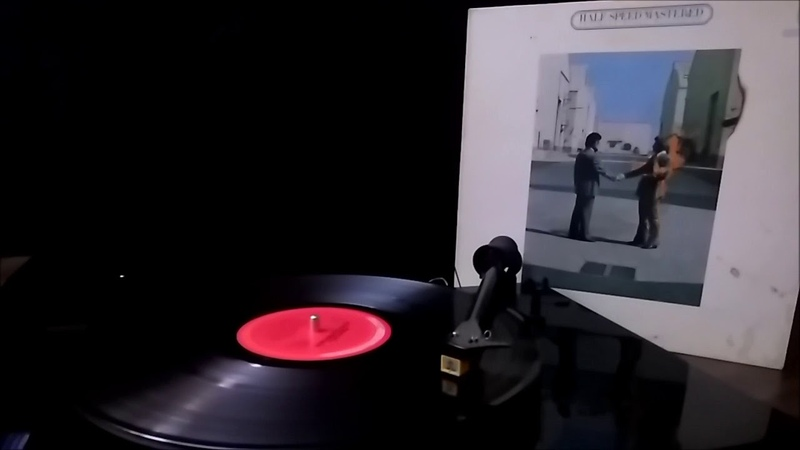Pink Floyd Wish You Were Here Half Speed Mastered CBS Mastersound vinyl Side 1
