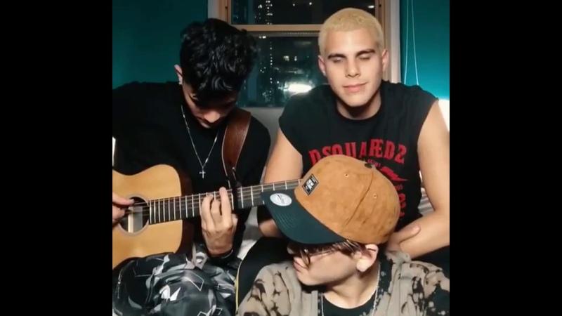 Erick, Zabdiel y Christopher - Nadie te amara como yo (Cover)