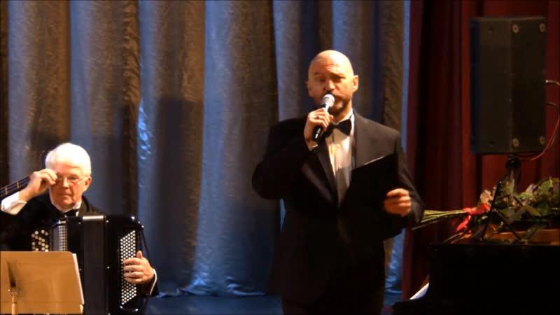 Юбилейный концерт солиста Большого театра Андрея Григорьева (фрагменты ведущего).