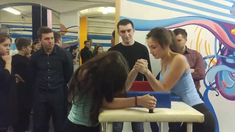 Чемпионат вуза по Армрестлингу