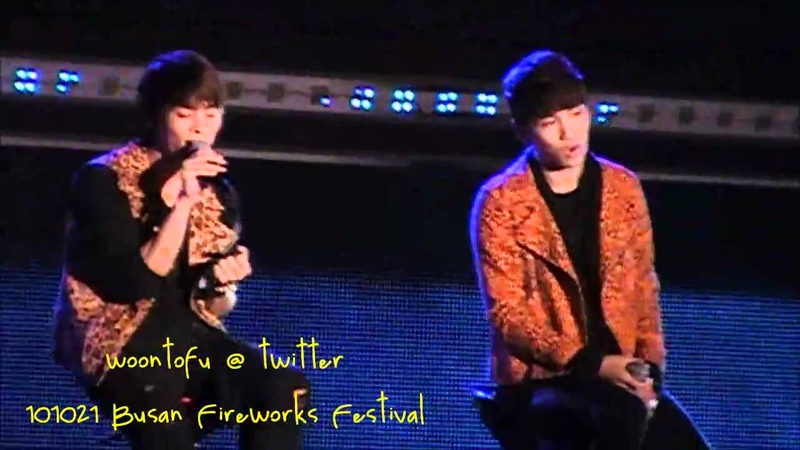 101021 Shinee -Hello at Busan Fireworks Festival
