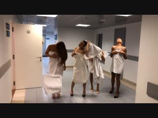 Челлендж с полотенцами