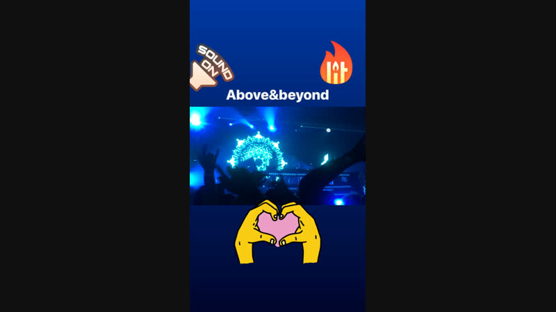 Music vibes by Above beyond