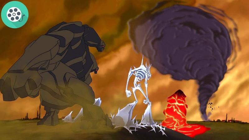 Аид освобождает титанов Геркулес 1997 год
