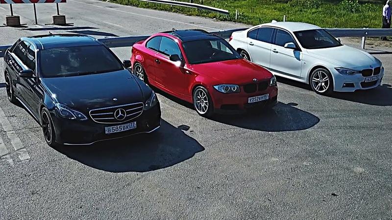 Атмосферник ПРОТИВ Турбо! Mercedes VS. BMW F30 330XI